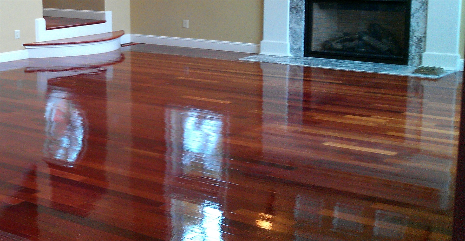 floating wood floors over concrete