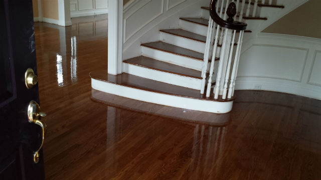 Wood Floor refinishing - Bedford NH