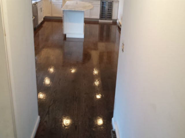 Wood Floor installation in Salem NH