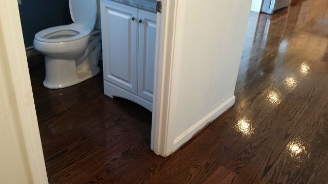 Wood Floor Staining  Salem N.H