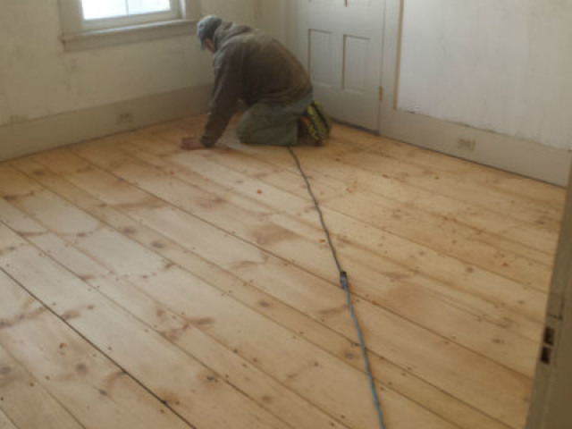 Painted Floor Sanding Nashua N.H
