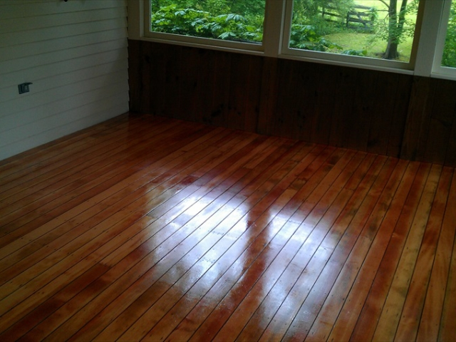 New Hampshire hardwood floor sanding