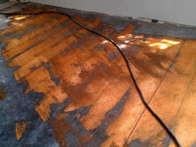 Andover floor sanding