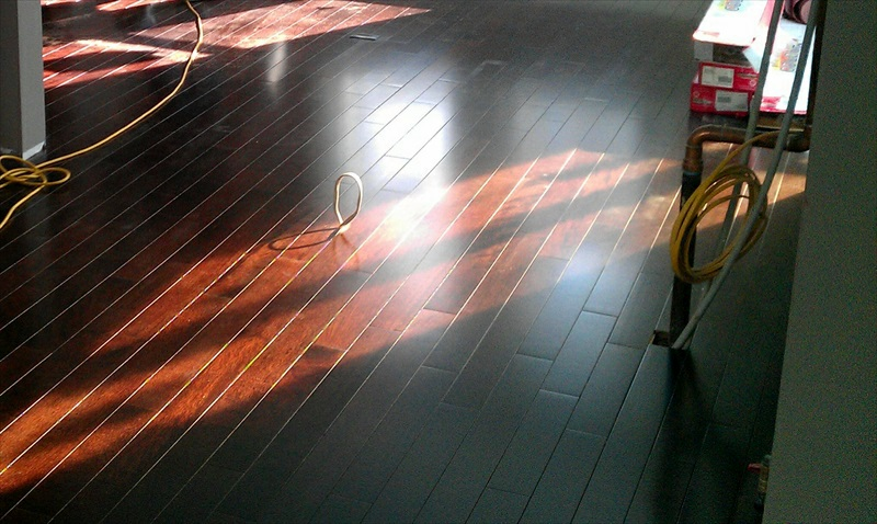 Hardwood floor installation new england floor sanding for Hardwood floors too shiny