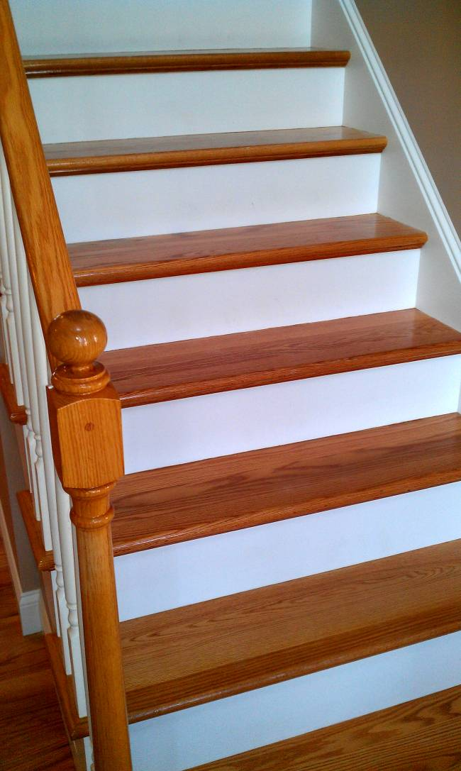Stairs Refinishing Amp Repairs New England Floor Sanding