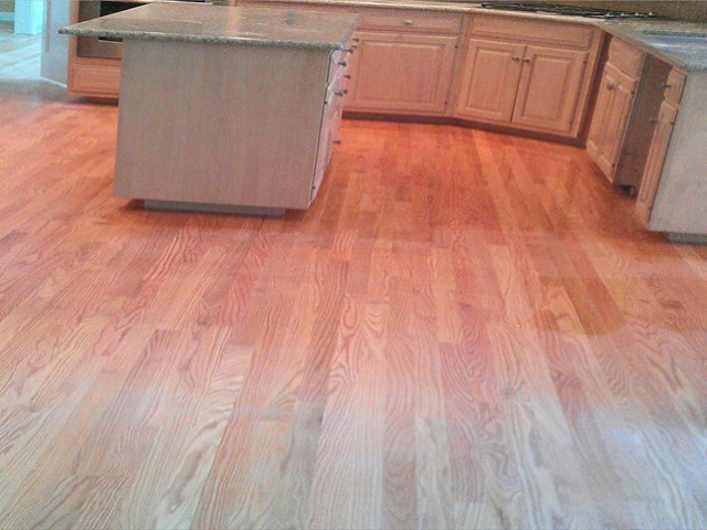 Replacing tile froor with hardwood